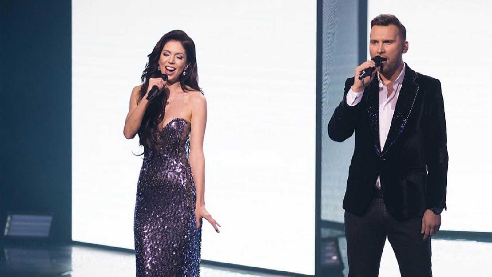"""Eurovisión 2017 - Estonia: Koit Toome y Laura cantan """"Verona"""""""