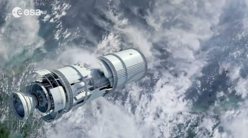 Europa en el espacio