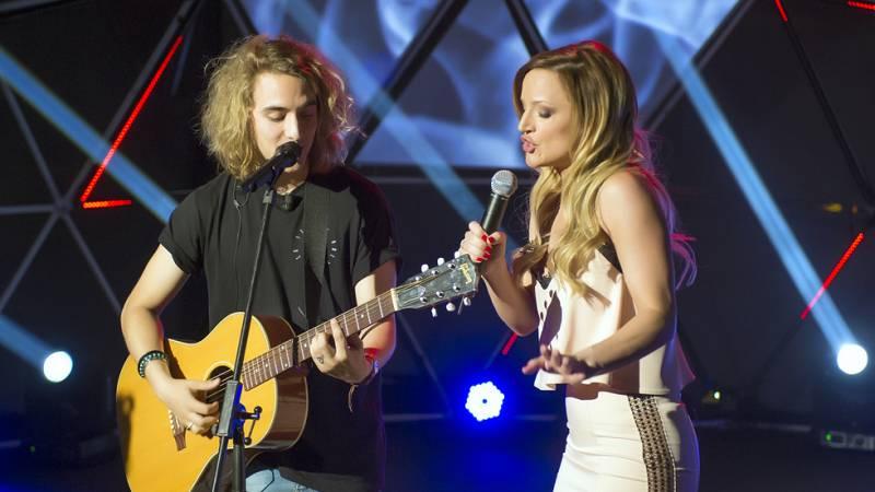 Eurovisión 2017- Tijana Bogicevic y Manel Navarro a duo