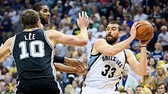 Los Spurs de Pau Gasol pueden con Marc y se meten en semifinales