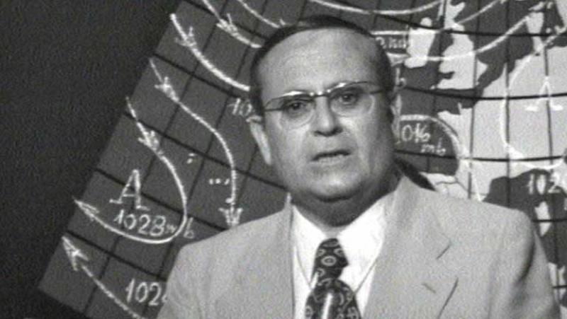 Historia de TVE - Mariano Medina: El primer 'Hombre del tiempo'