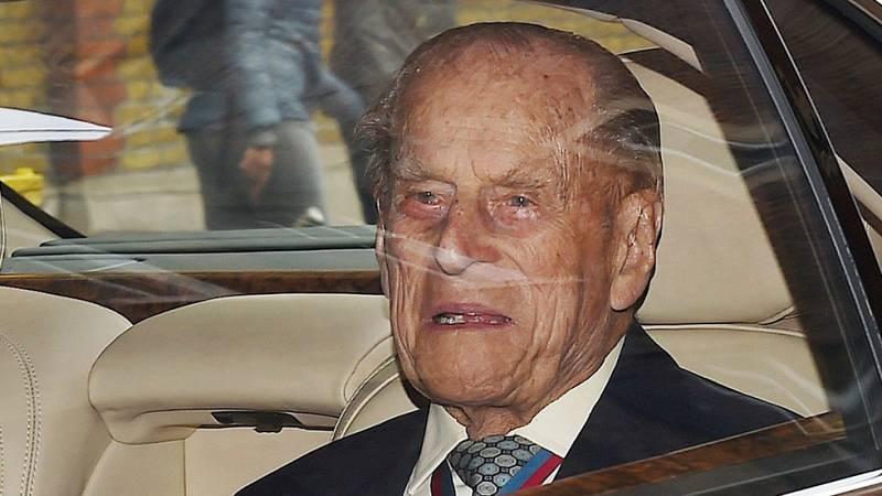 La Casa Real británica anuncia que el duque de Edimburgo no participará en actos públicos a partir de otoño