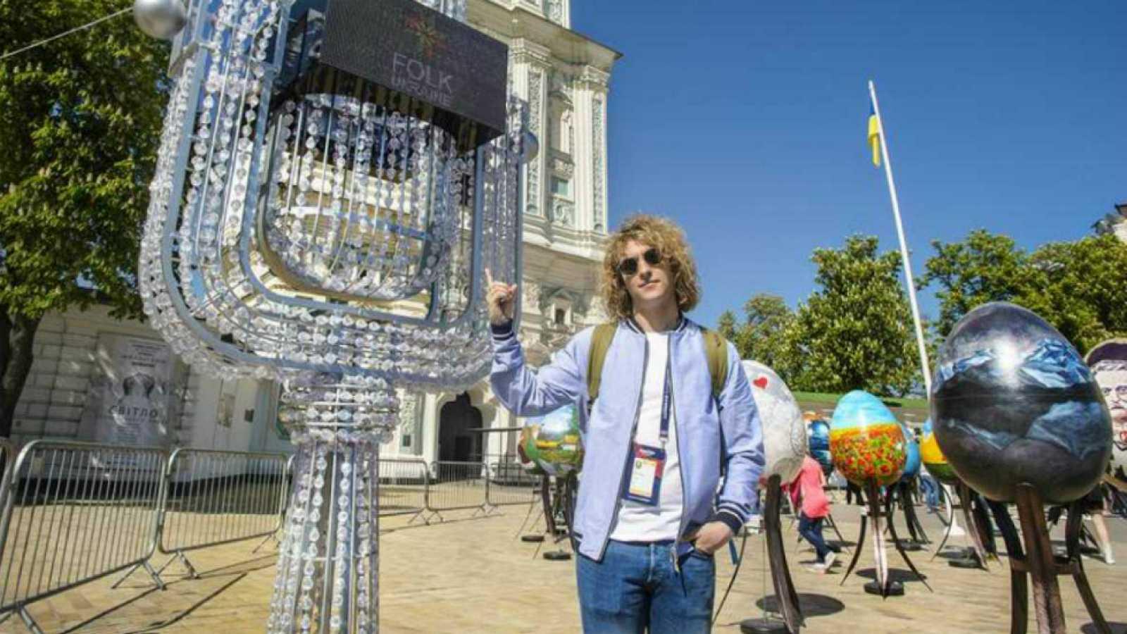 Eurovisión 2017 - Manel visita la ciudad de Kiev