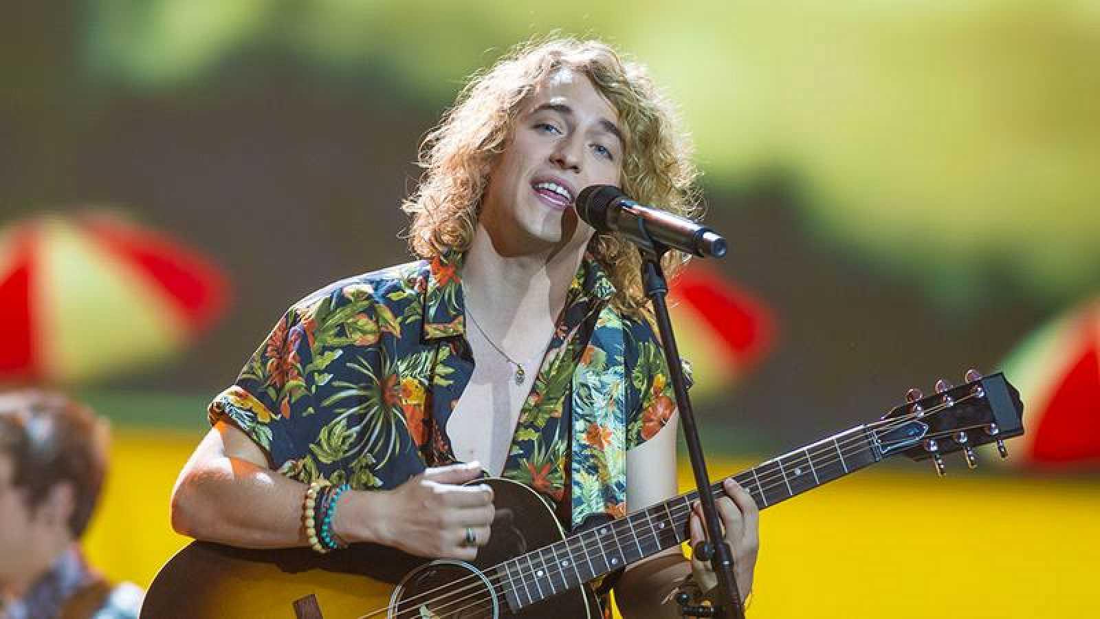 Eurovisión 2017 -Manel Navarro en su segundo ensayo