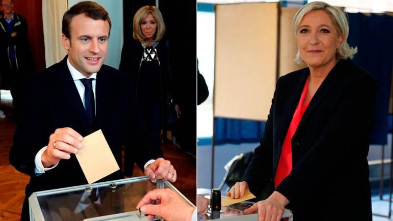 Francia elige entre Macron y Le Pen bajo la mirada atenta de Europa