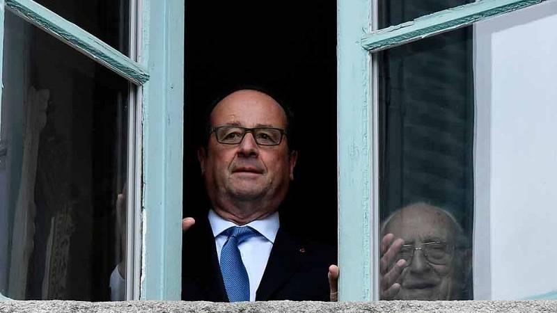 Hollande, el primer presidente francés que renunció a la reelección