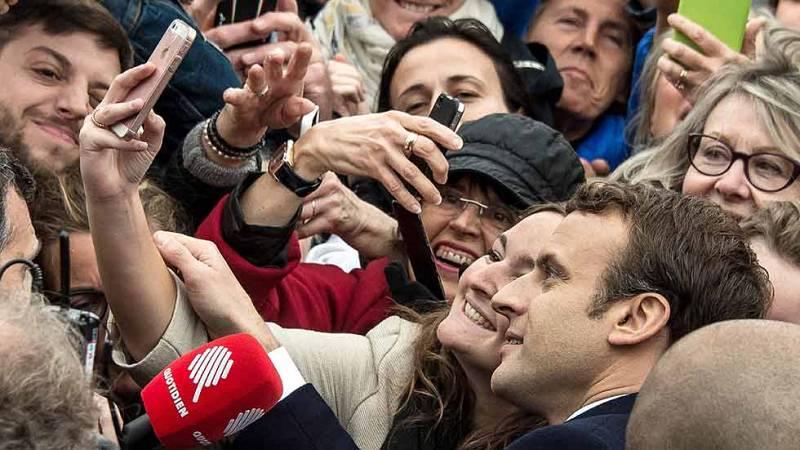 Jornada electoral sin sobresaltos en las presidenciales francesas