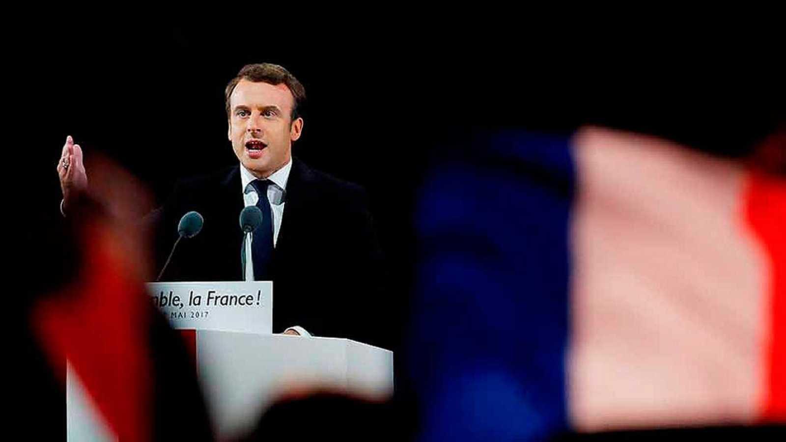 Elecciones en Francia 2017 - Emmanuel Macron gana las elecciones de Francia y frena a la ultraderecha