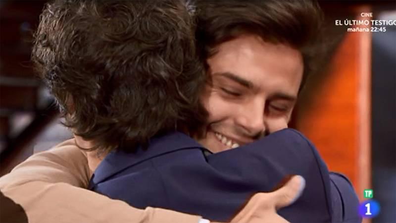 El abrazo de Jordi a Nathan