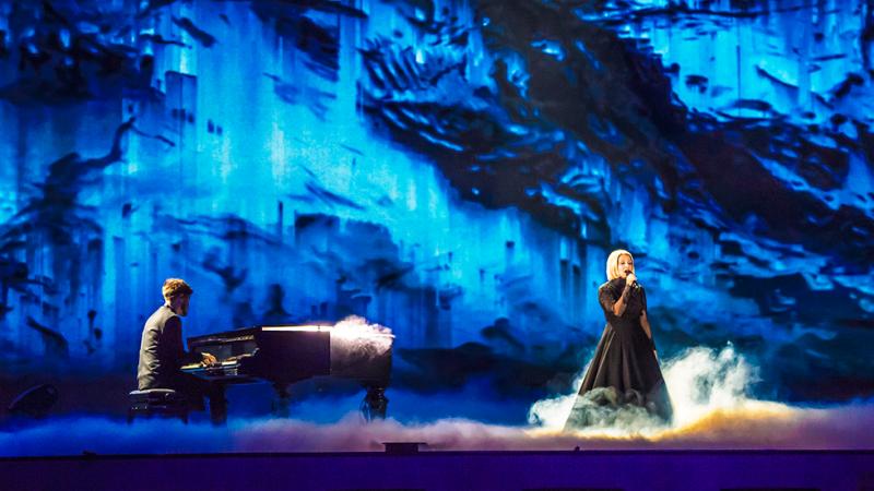 """Eurovisión 2017 - Finlandia: Norma John canta """"Blackbird"""""""