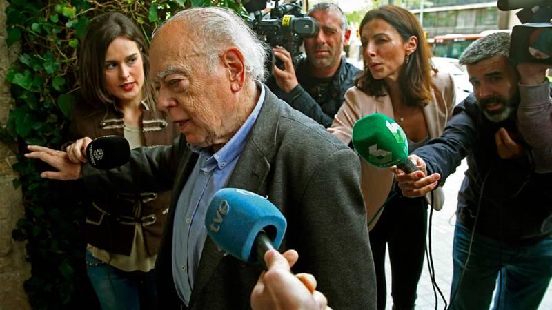 Jordi Pujol guarda silencio tras conocerse el lenguaje en clave que utilizó su mujer para mover fondos en Andorra