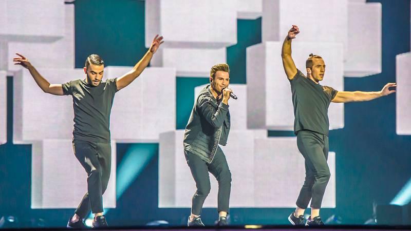 "Eurovisión 2017 - Chipre: Hovig canta ""Gravity"""