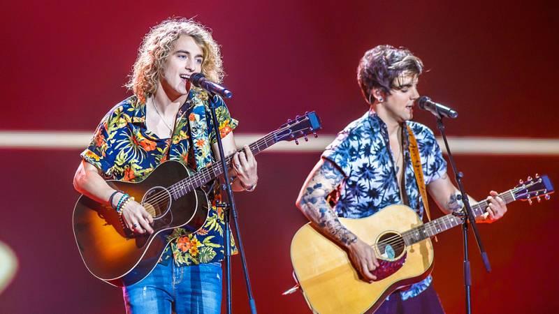 """Eurovisión 2017 - El primer minuto de España: Manel Navarro canta """"Do it for your lover"""""""