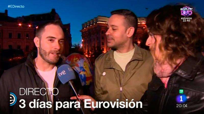 España Directo - Los fans españoles hacen turismo por Kiev en Eurovisión 2017