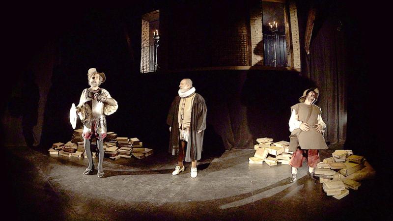 'Cervantes VR', una nueva experiencia de realidad virtual para conocer la vida del genio de las letras