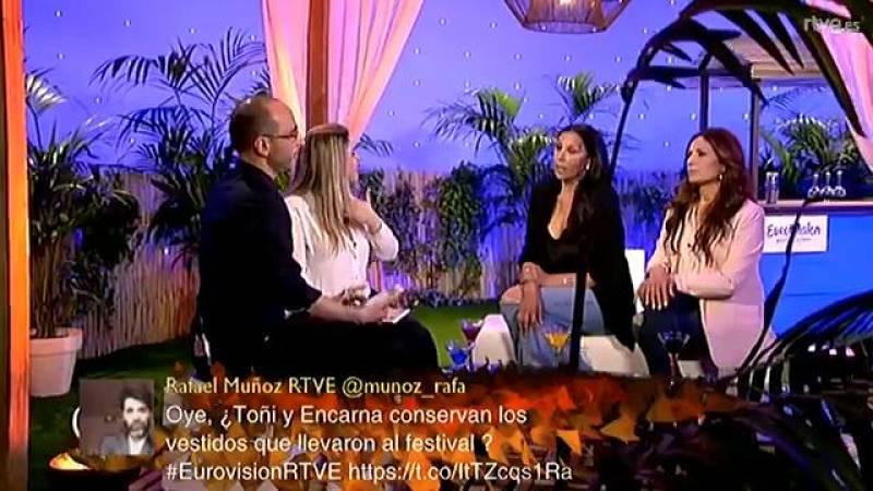 Las Azúcar Moreno cantan su famoso 'Bandido'