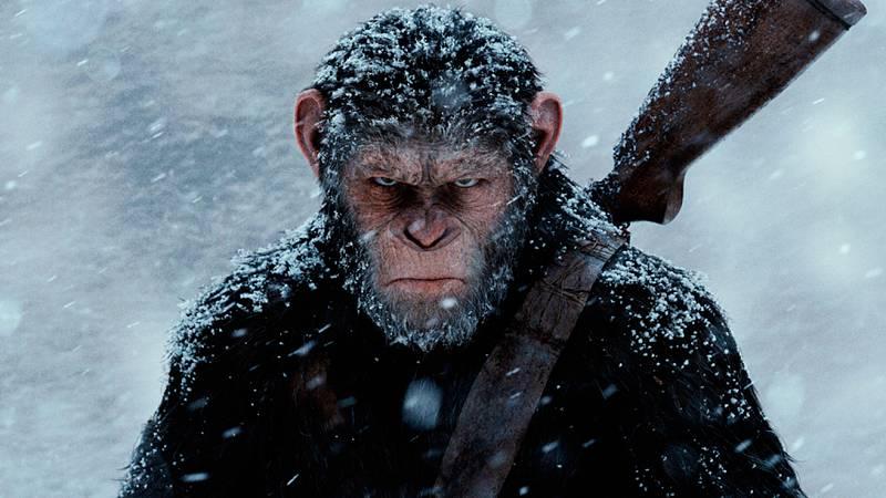 RTVE.es estrena el nuevo tráiler en castellano de 'La guerra del planeta de los simios'