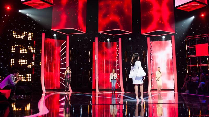 """Diana Navarro, al borde de las lágrimas tras escuchar a sus fans cantar """"Sola"""""""