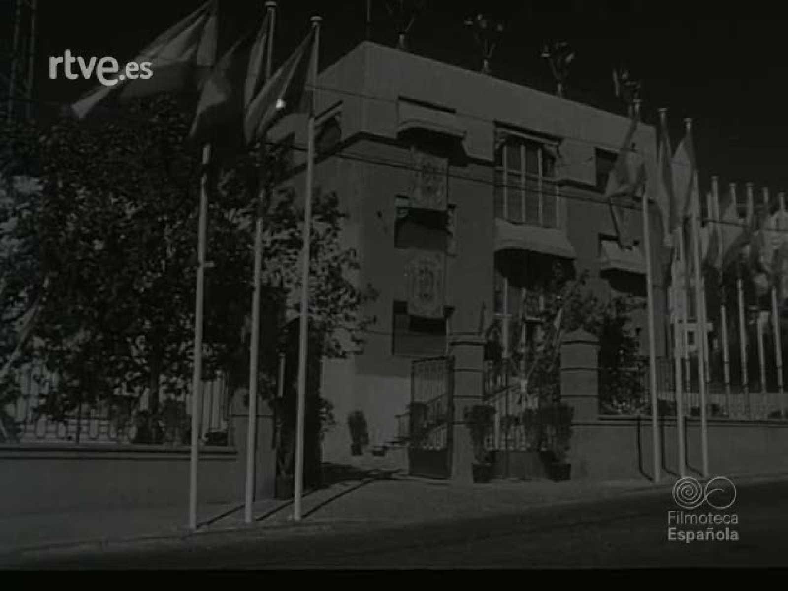 Historia de TVE - Inaguración emisiones de TVE