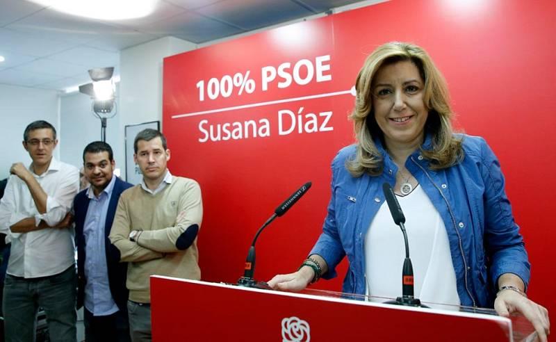 Susana Díaz propone un crédito público para jóvenes, a devolver en el IRPF, cuando tengan ingresos suficientes