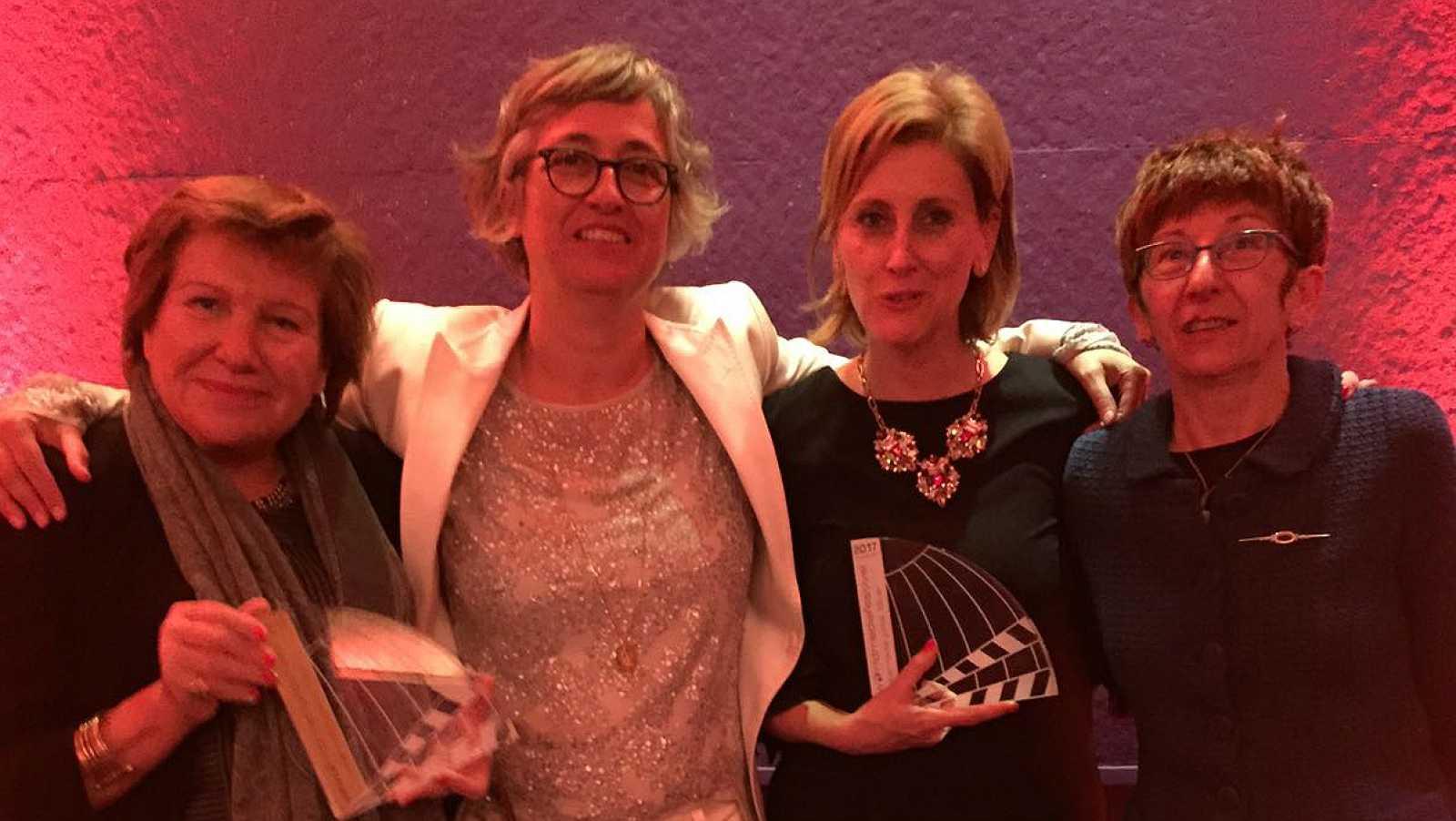 Imprescindibles - Entrega de los premios World Media Festival en Hamburgo para el programa 'Imprescindibles'