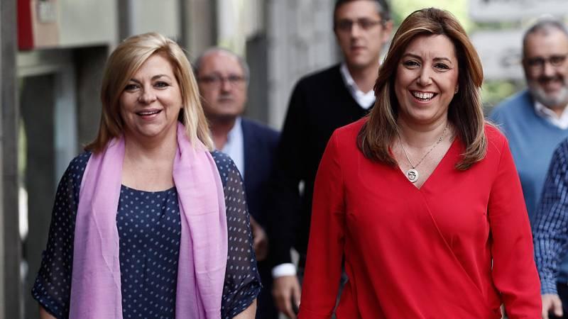 """Elena Valenciano: """"No hay ningún riesgo de ruptura desde la candidatura de Susana Díaz"""""""