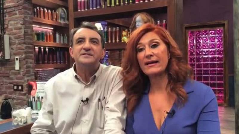 """Chiqui Fernández y Juanjo Cucalón nos hablan de sus personajes en """"La Peluquería"""""""