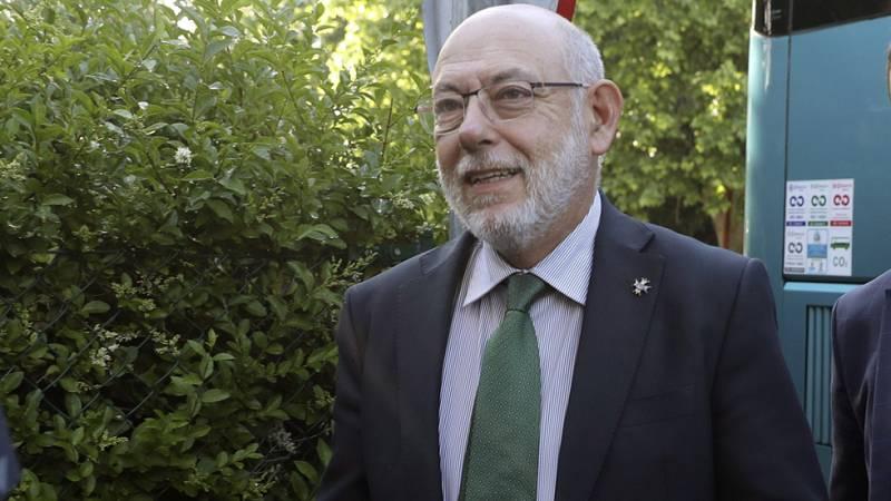 """El fiscal general del Estado: """"Se ha perseguido y se va a seguir persiguiendo la corrupción"""""""