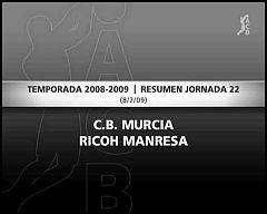 C.B. Murcia 56-65 Ricoh Manresa