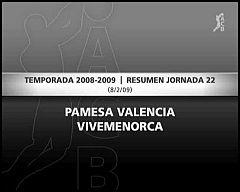 Pamesa 87-56 Menorca