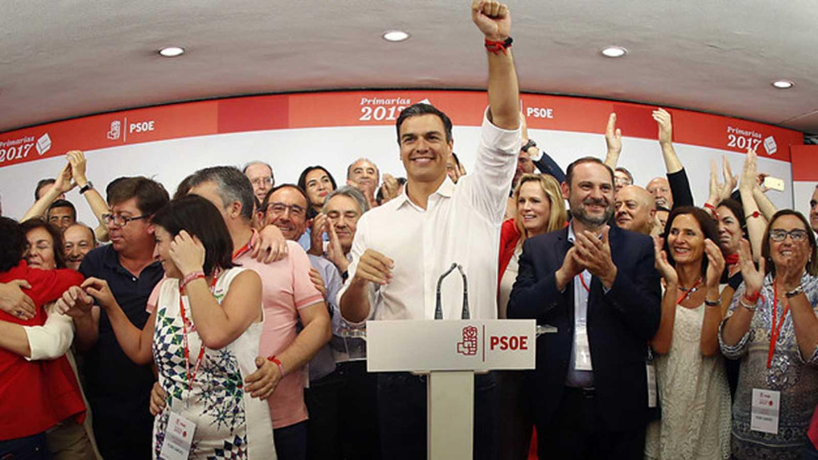 Pedro Sánchez vuelve a la secretaría general de los socialistas, ocho meses después de su dimisión