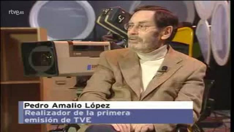 Historia de TVE - Pedro Amalio López nos cuenta cómo fue la realización de la primera emisión
