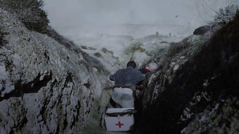 El Ministerio del Tiempo - La muerte de Julián en la batalla de Teruel