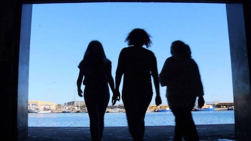 Mujeres en la mar