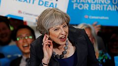 Theresa May, ¿en riesgo de perder la mayoria absoluta?