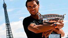 Nadal ya sueña con su undécimo Roland Garros
