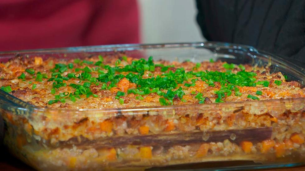 Hacer horno al para dieta como berenjenas