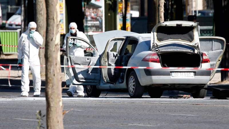 La policía continúa investigando el ataque terrorista en los Campos Elíseos