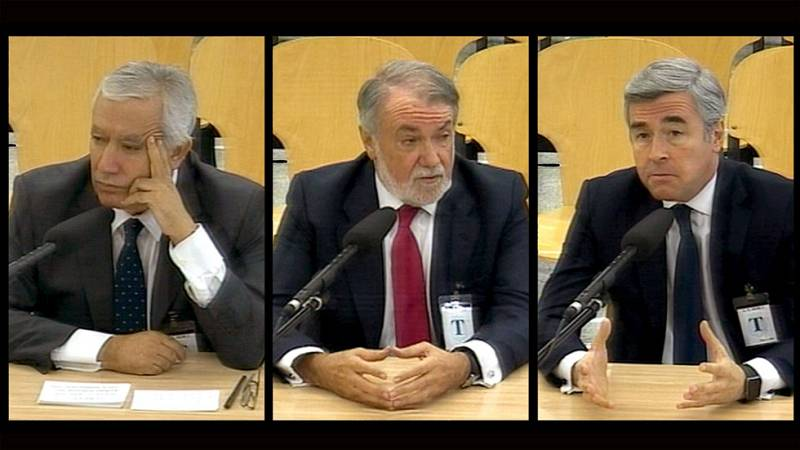 Arenas, Acebes, Mayor Oreja y Rato niegan haber recibido instrucciones de Bárcenas para adjudicar contratos