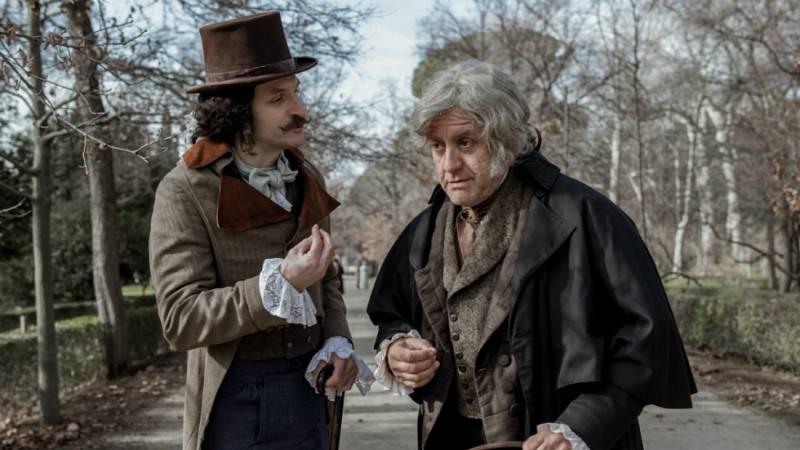 El Ministerio del Tiempo - Velázquez viaja en el tiempo para conocer a Goya