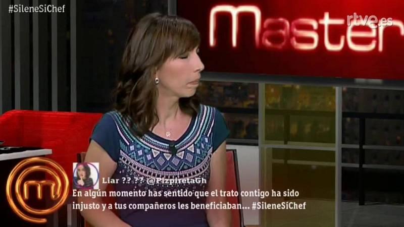 "Silene denuncia un ""trato injusto"" en MasterChef"