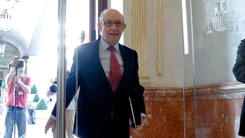 El Congreso reprueba a Cristóbal Montoro por la amnistía fiscal