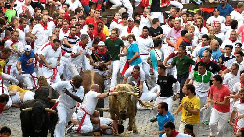 Cómo es el recorrido de los encierros de San Fermín