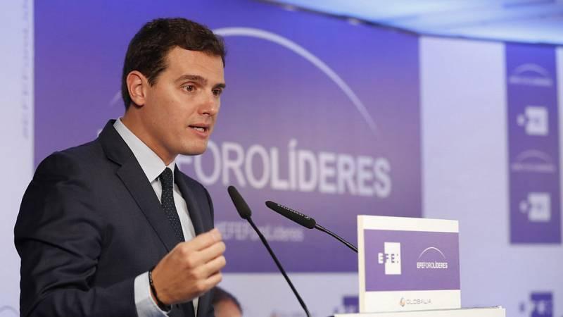 Albert Rivera cree que el proceso soberanista de Cataluña concluirá con la convocatoria de elecciones