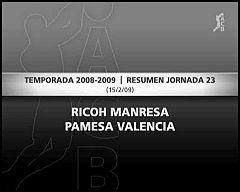 Ricoh Manresa 74-73 Pamesa Valencia