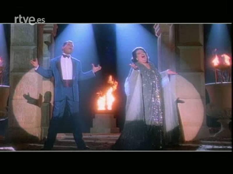 Historia de TVE - Videoclip 'Barcelona' con Montserrat Caballé y Freddie Mercury