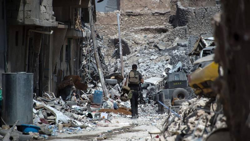 La batalla final por el casco antiguo de Mosul cuesta la vida a más de 1.000  combatientes del Daesh