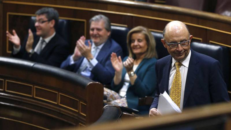 El Congreso aprueba el techo de gasto con el apoyo de Ciudadanos y el PNV