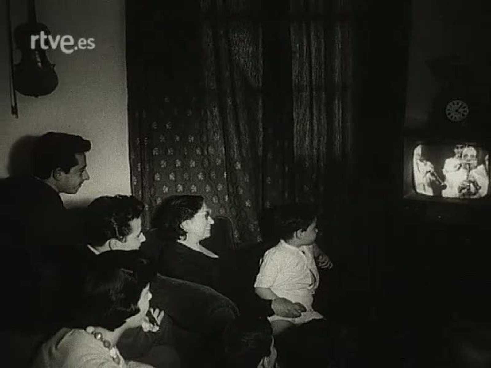 Las primeras imágenes en TVE