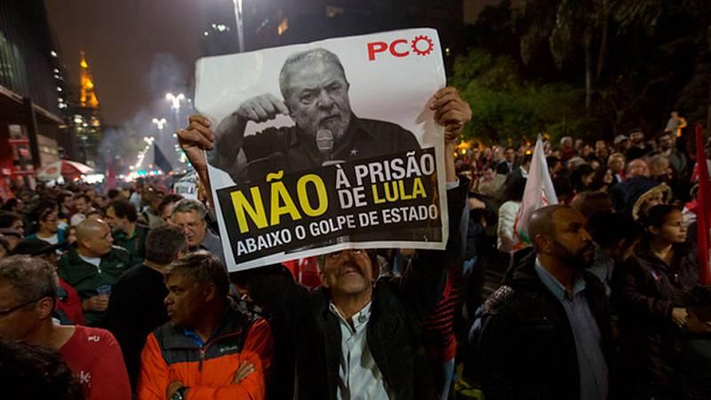 El futuro político del expresidente brasileño Lula da Silva está en el aire tras la sentencia a 9 años y medio de cárcel conocida  por corrupción